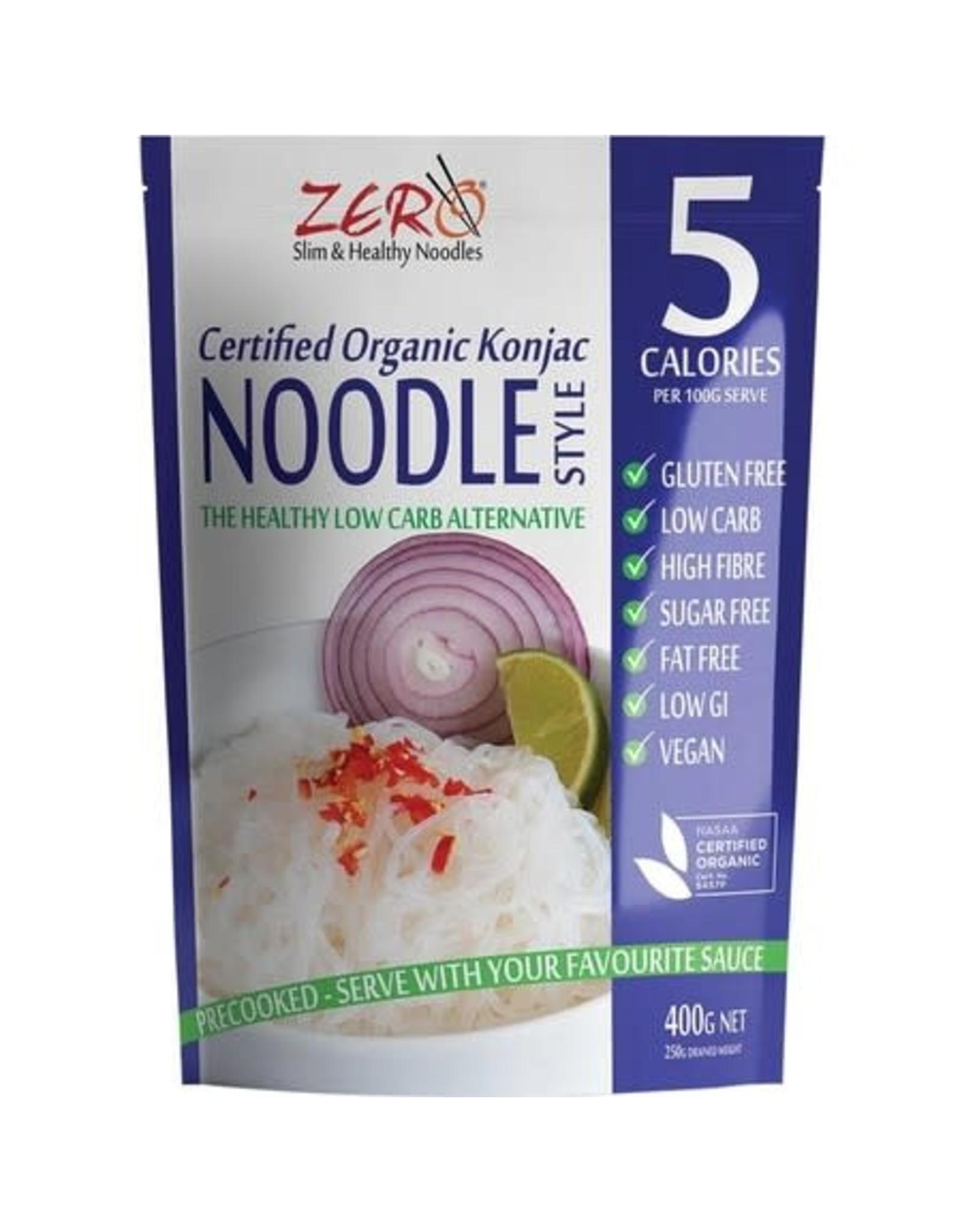 Zero Slim & Healthy Konjac Noodles - Organic - 400g