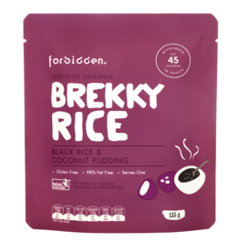 Forbidden Brekky Rice Black Rice & Coconut Pudding 125g