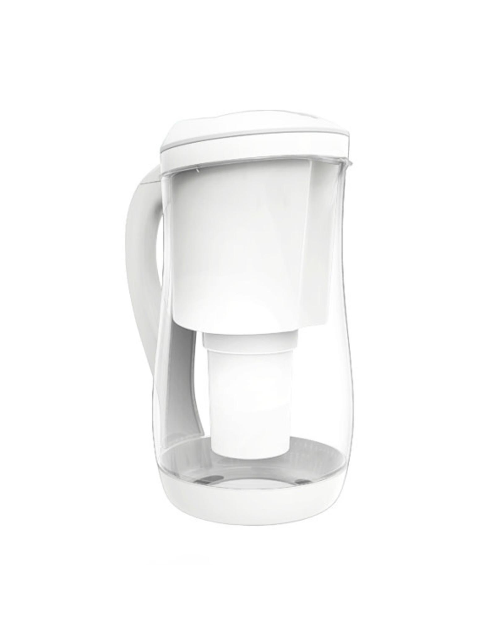 Gentoo Gentoo Glass Water Filter Jug  White 1.5L