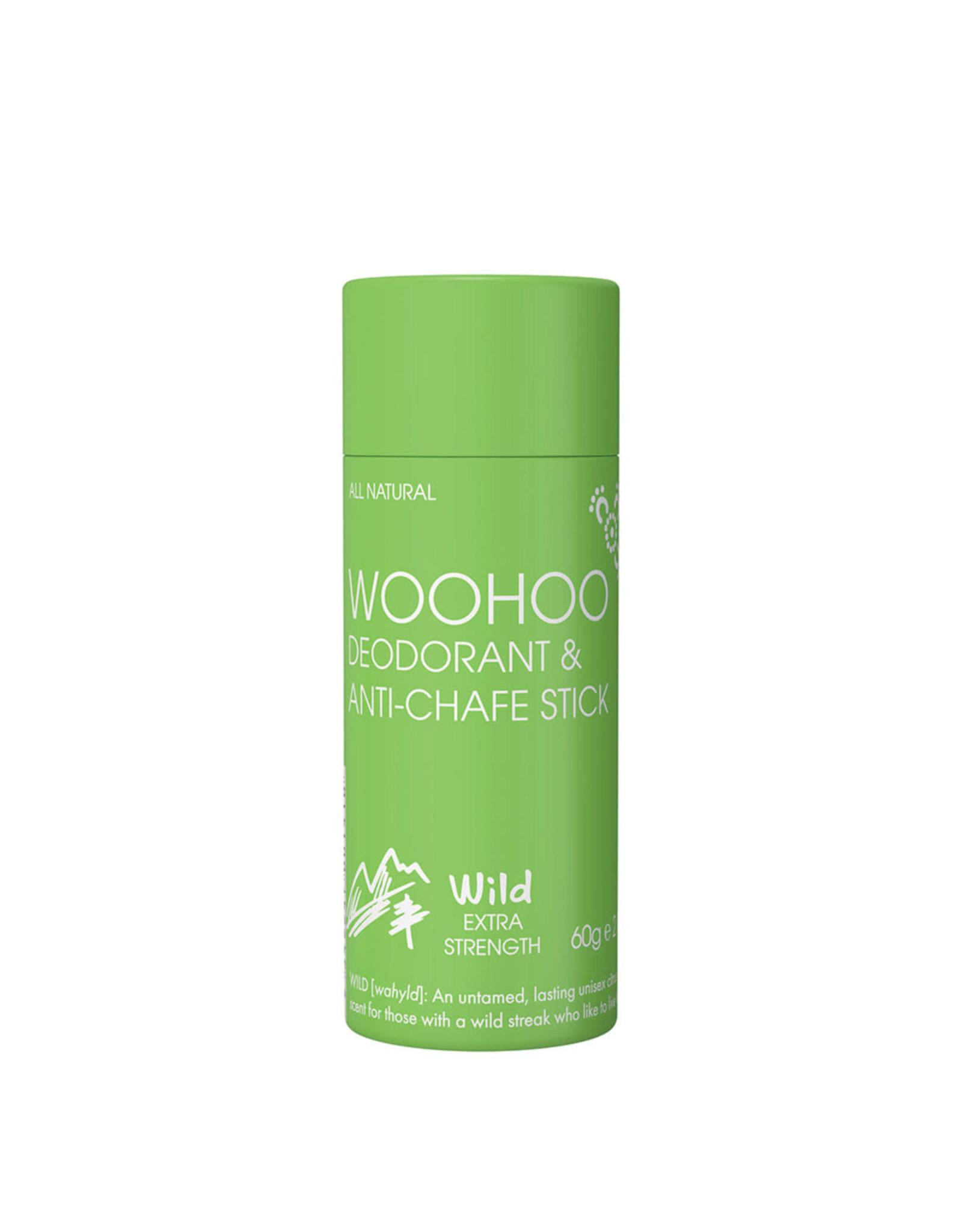 Woohoo Deodorant & Anti-Chafing Stick 60g - Wild