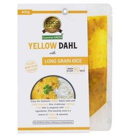 Coco Earth Yellow Dahl & Rice 400g