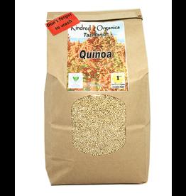 Kindred Organics Organic White Quinoa Australian 1KG
