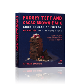 Teff Tribe Fudgey Teff & Cacao Brownie Mix 320g