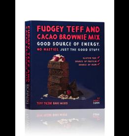 Teff Tribe Fudgey Teff & Cacao Brownie Mix 320g