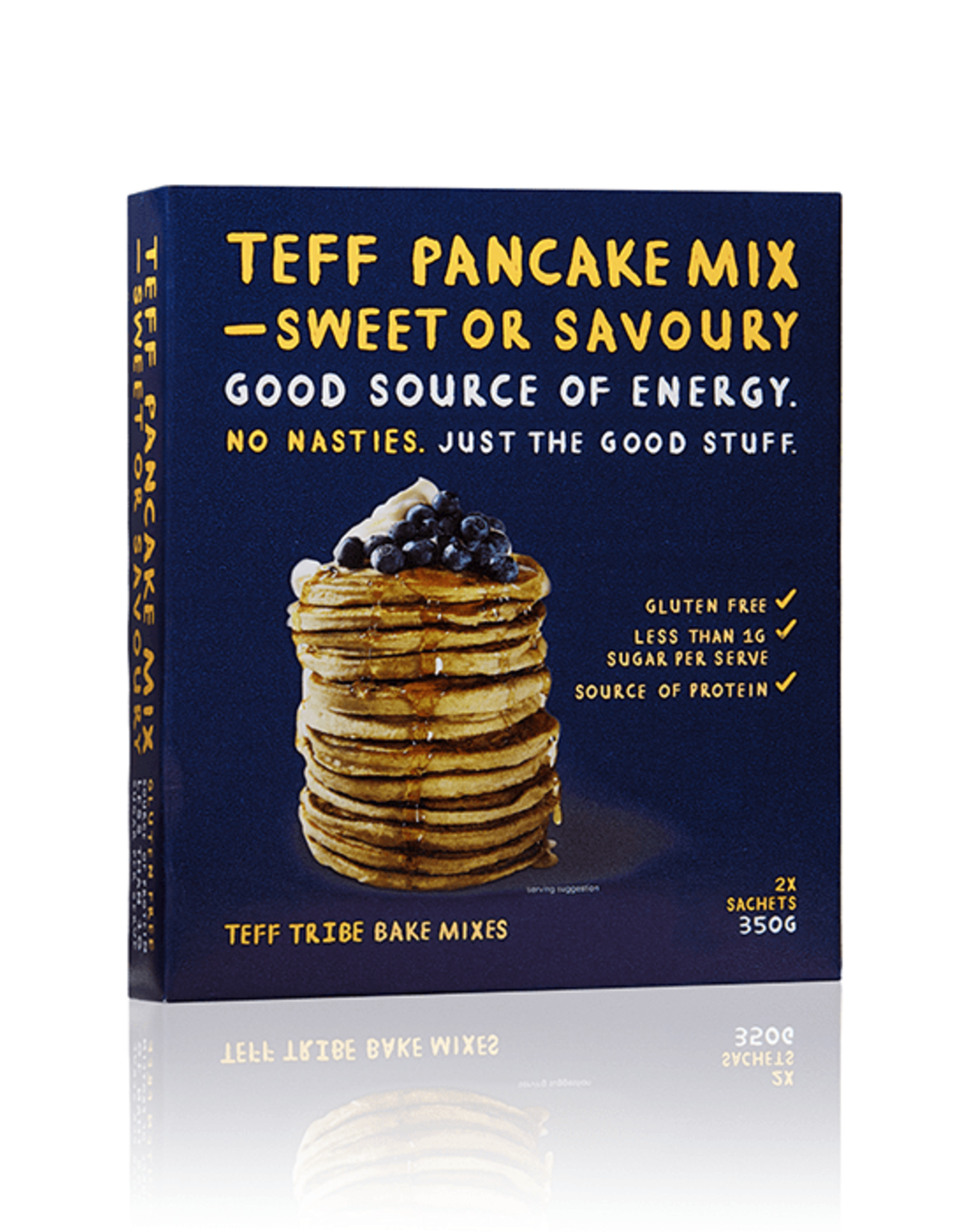 Teff Tribe Teff Sweet or Savoury Pancake Mix 350g