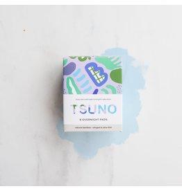 Tsuno Bamboo Overnight Pads 8pk