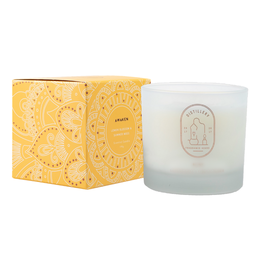 Distillery Fragrance House Soy Candle - Lemon Blossom & Summer Moss