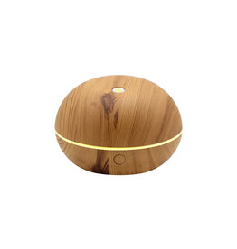 Aryya Ultrasonic Mini Orb Diffuser - Wood Grain