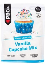 PBCO Low Carb Vanilla Cupcake Mix 220g