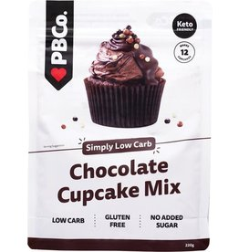 PBCO Low Carb Chocolate Cupcake Mix 220g
