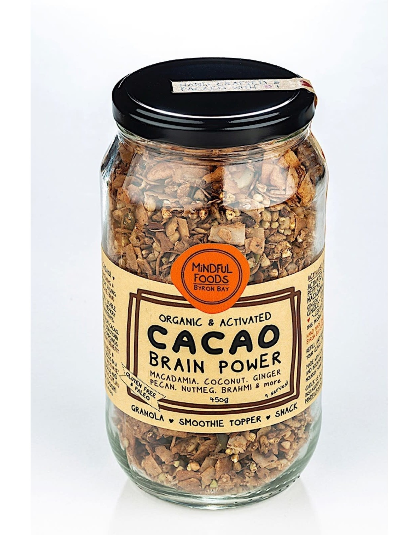 Mindful Foods Cacao Brain Power Granola
