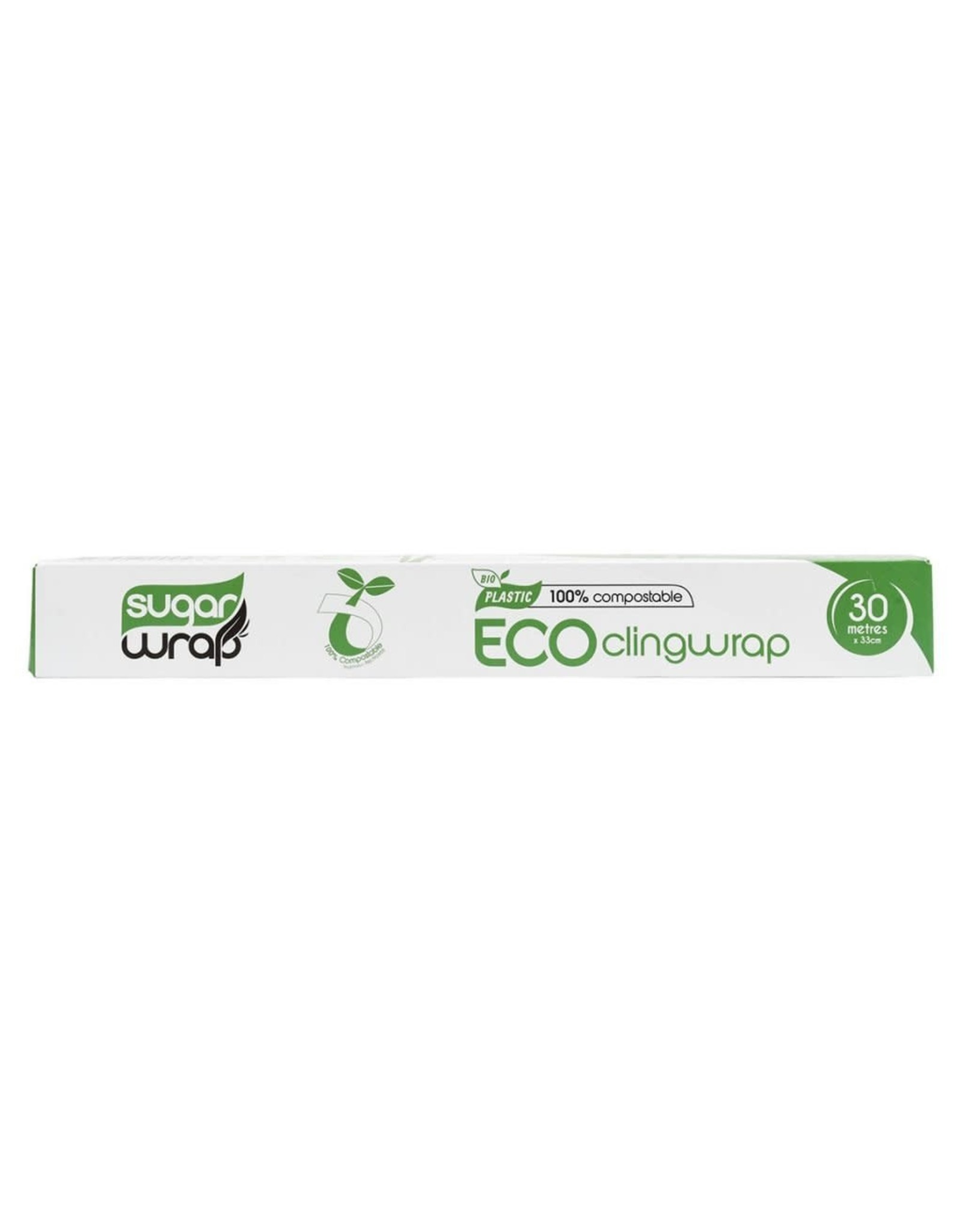 Sugarwrap Eco Clingwrap - 100% Compostable - 30m x 33cm