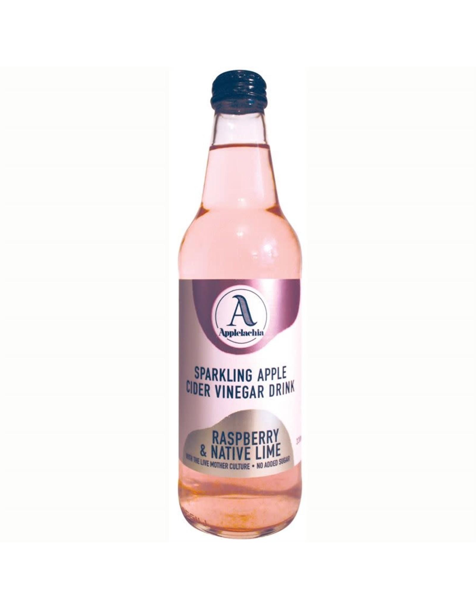 Applelachia Sparkling Apple Cider Vinegar - Raspberry & Native Lime - 300ml