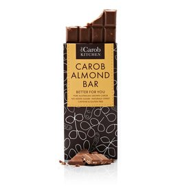 The Carob Kitchen Carob Bar Almond - 80g
