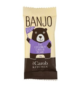 The Carob Kitchen Banjo Bear Coconut Carob Vegan 15g