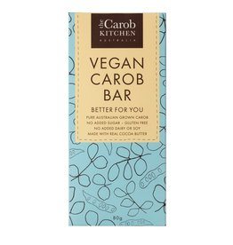 The Carob Kitchen Carob Bar Vegan - 80g