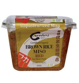 Carwari Organic Brown Rice Miso Paste Red 300g