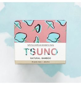 Tsuno Bamboo Panty Liners 20pk