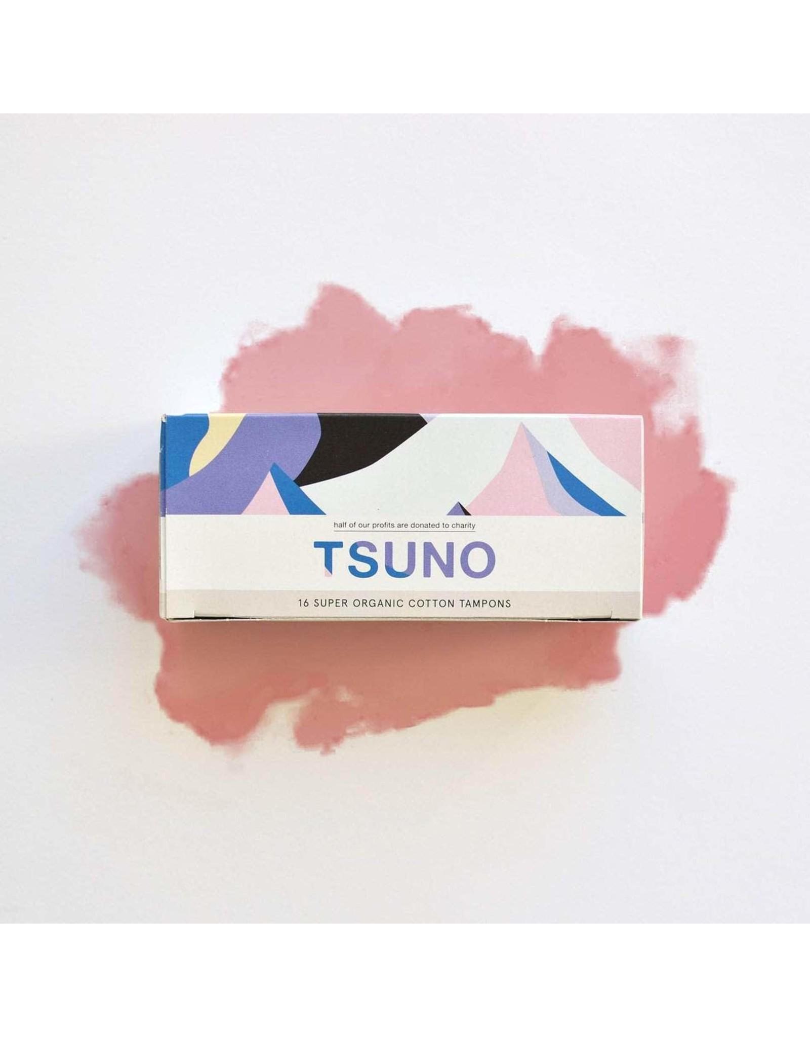 Tsuno Organic Cotton Tampons 16pk