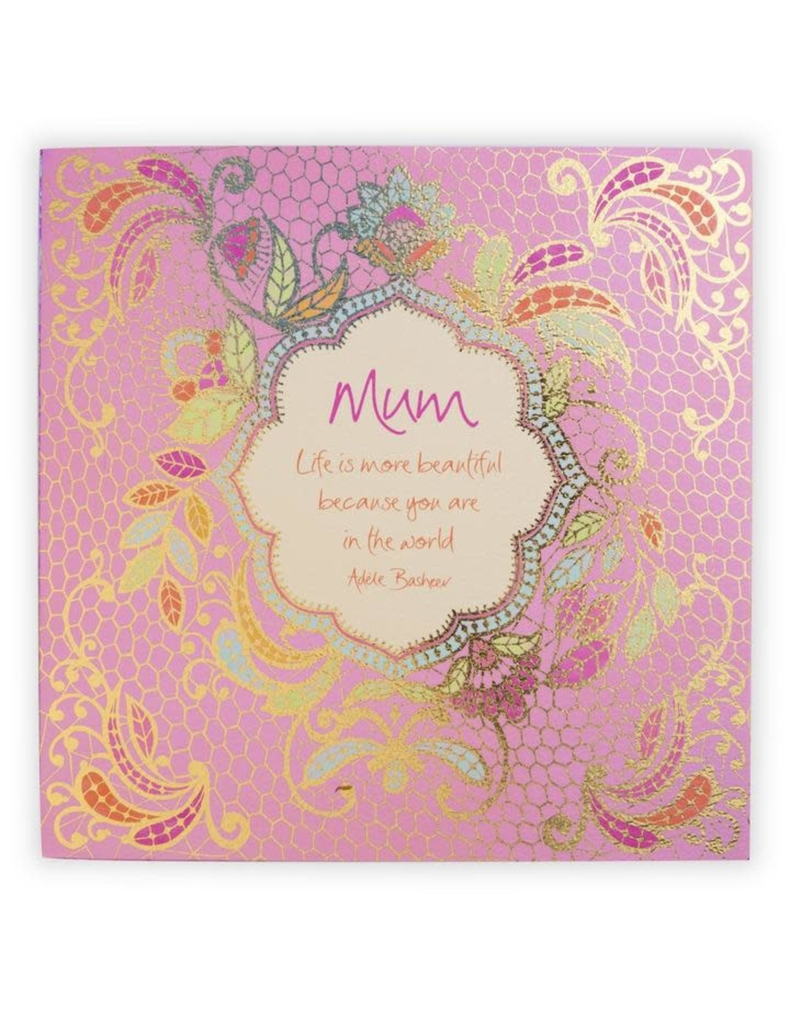 Intrinsic Mum Family Quote Book