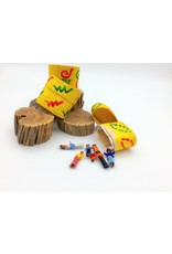 Silverstone Guatemalan Worry Doll 6 Doll Yellow Box