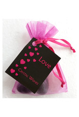 Silverstone Crystal Wish Bag - Love