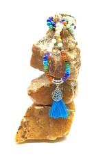 Silverstone Mala Necklace - Chakra & Amazonite - Tree of Life