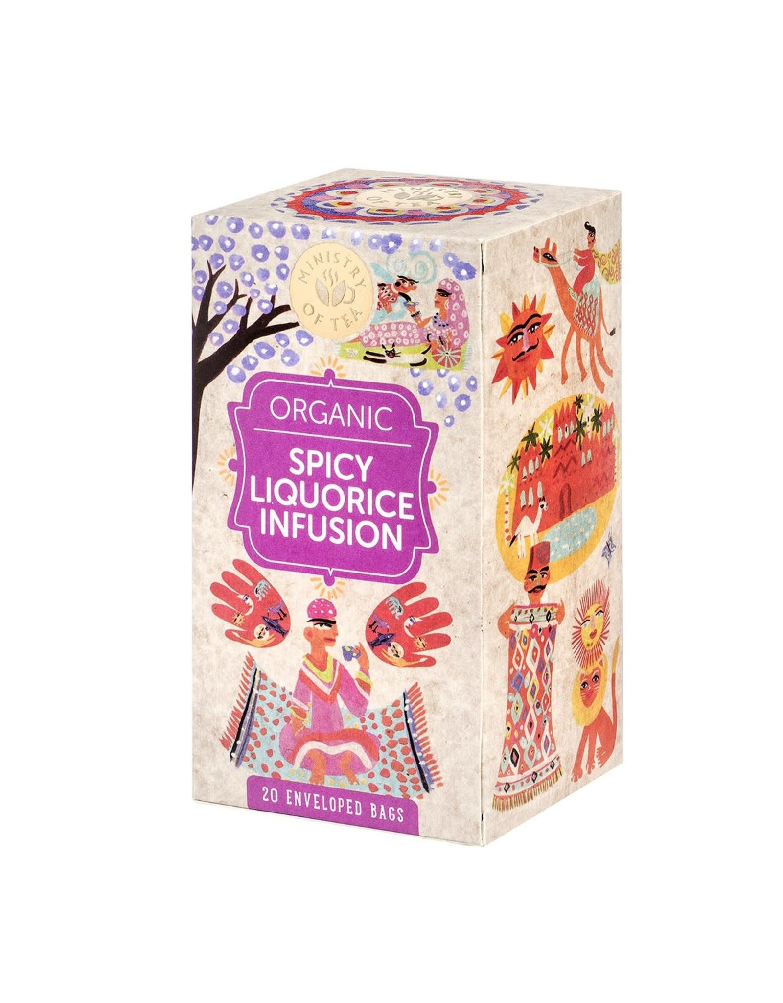 Ministry Of Tea Spicy Liquorice Infusion 20 Tea Bags