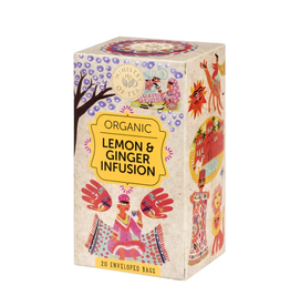 Ministry Of Tea Lemon & Ginger Infusion - 20 Tea Bags