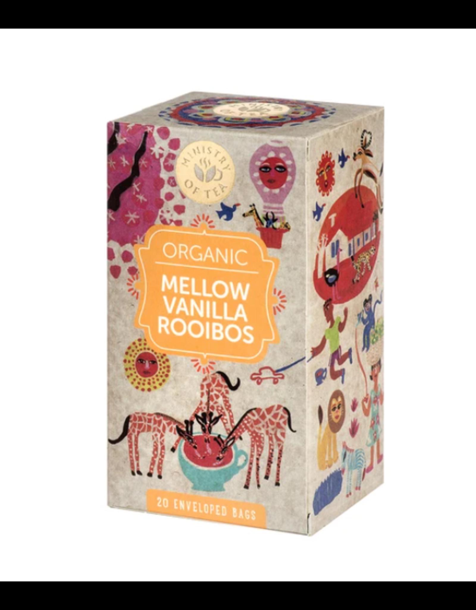 Ministry Of Tea Mellow Vanilla Rooibos - 20 Tea Bags
