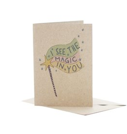 Deer Daisy I See the Magic in You Greeting Card