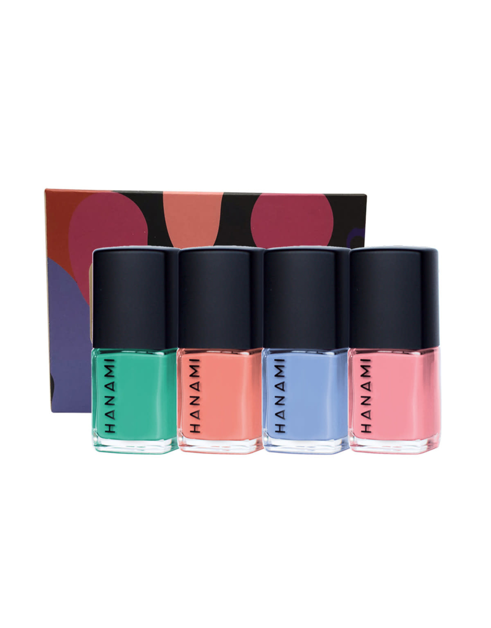 Hanami Nail Polish Collection Voyage 4pk