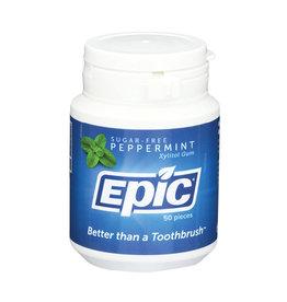 Epic Dental Gum Peppermint 50pc Tub