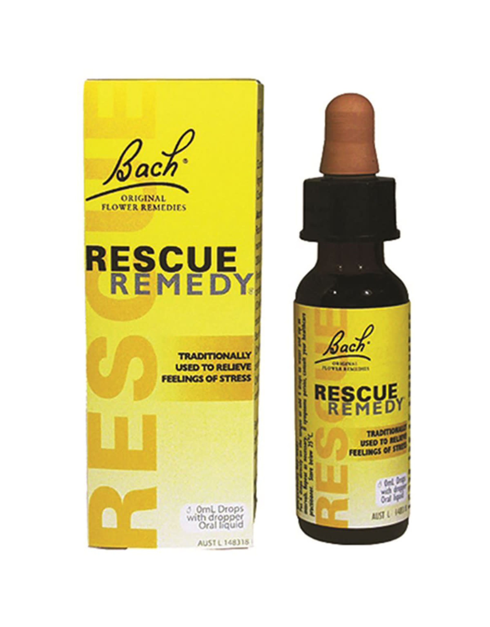 Bach Bach Flower Remedies Rescue Remedy Drops