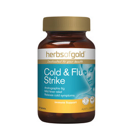 Herbs of Gold Cold & Flu Strike 30t