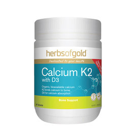 Herbs of Gold Calcium K2 with D3 90t