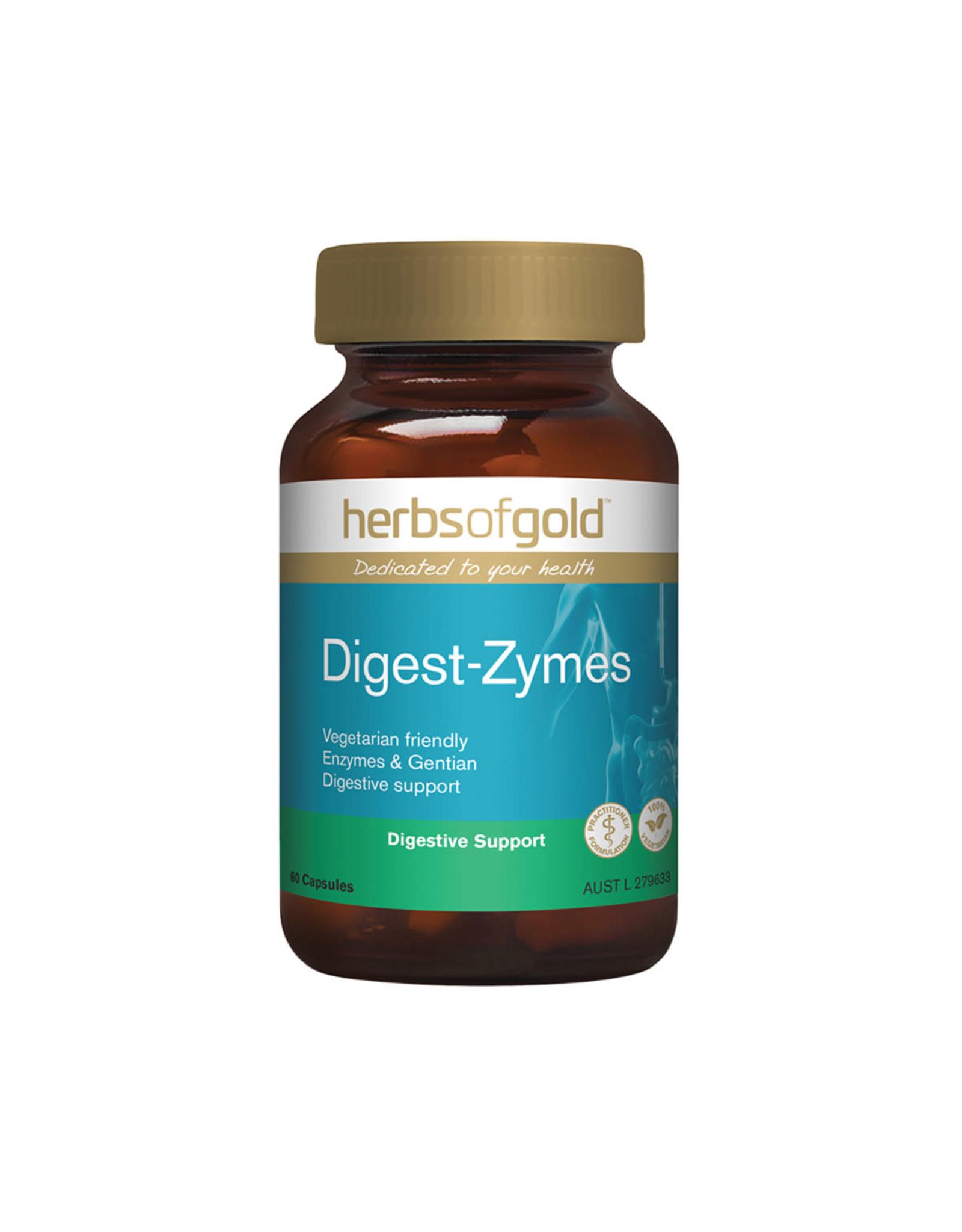 Herbs of Gold Digest-Zymes 60c
