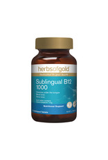 Herbs of Gold Sublingual B12 1000 75t
