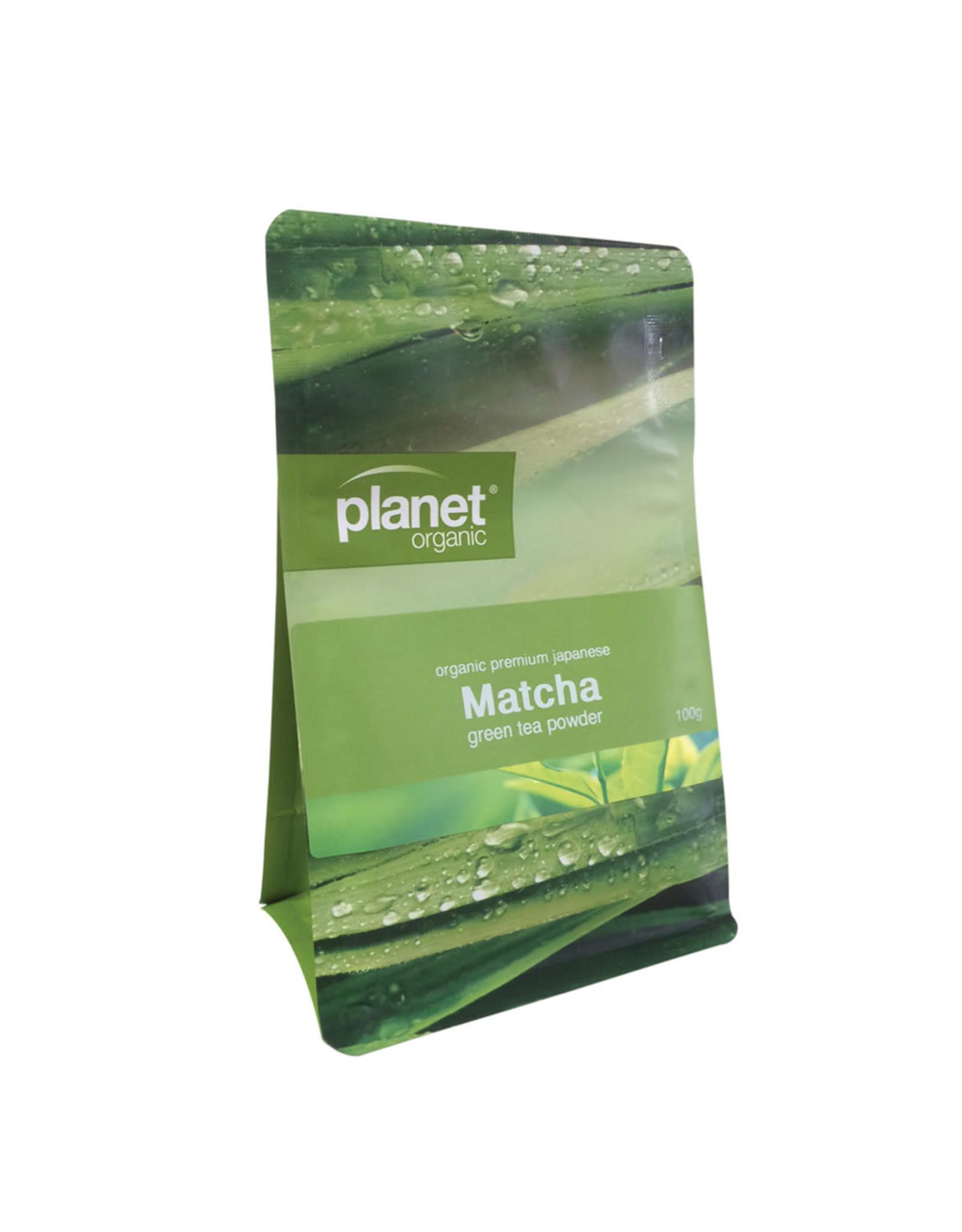 Planet Organic Matcha Green Tea Powder - Organic - 100g