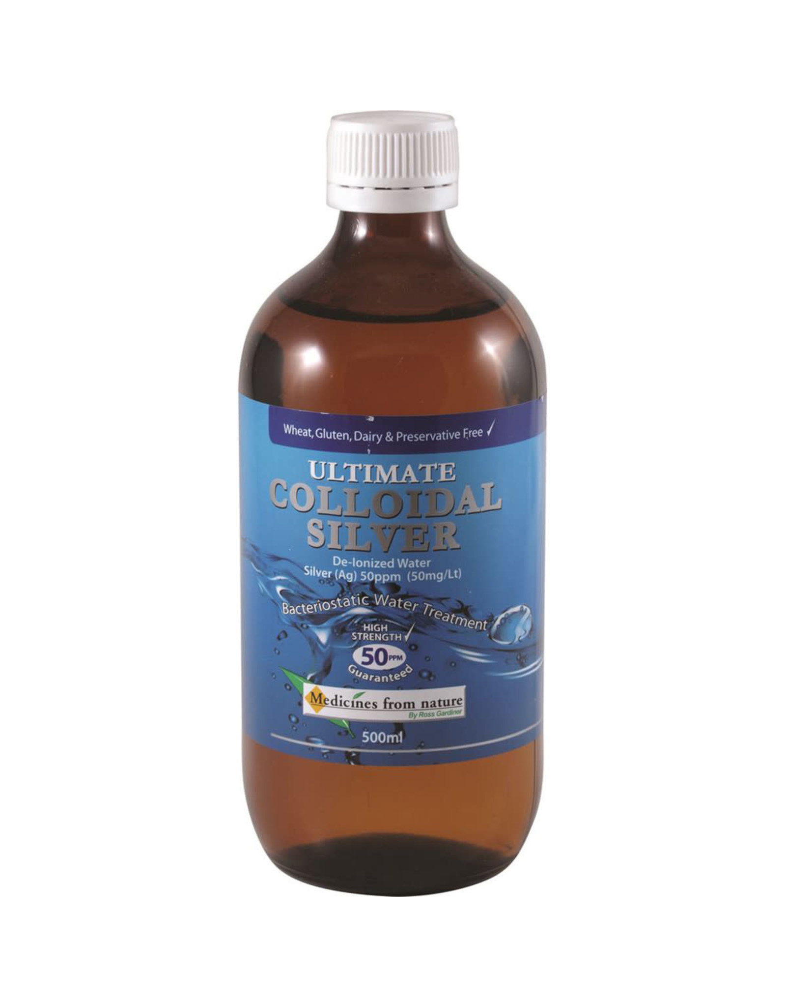 Full Health Industries Ultimate Colloidal Silver 50ppm 500ml