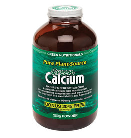 MicroOrganics Green Nutritionals Green Calcium (Pure Plant-Source) 250g