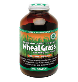 MicroOrganics Wheatgrass Powder - 100% Australian Organic - 200g