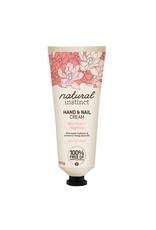 Natural Instinct Hand & Nail Cream Wild Rose & Magnolia 100g