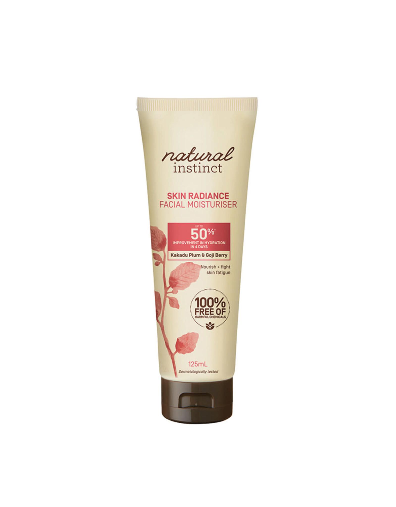 Natural Instinct Facial Moisturiser Skin Radiance 125ml