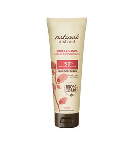 Natural Instinct Facial Moisturiser Skin Radiance 125ml