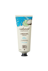 Natural Instinct Hand & Nail Cream Lime & Coconut 100g