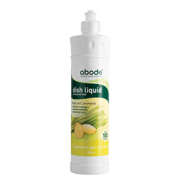 Abode Dishwashing Liquid Ginger & Lemongrass
