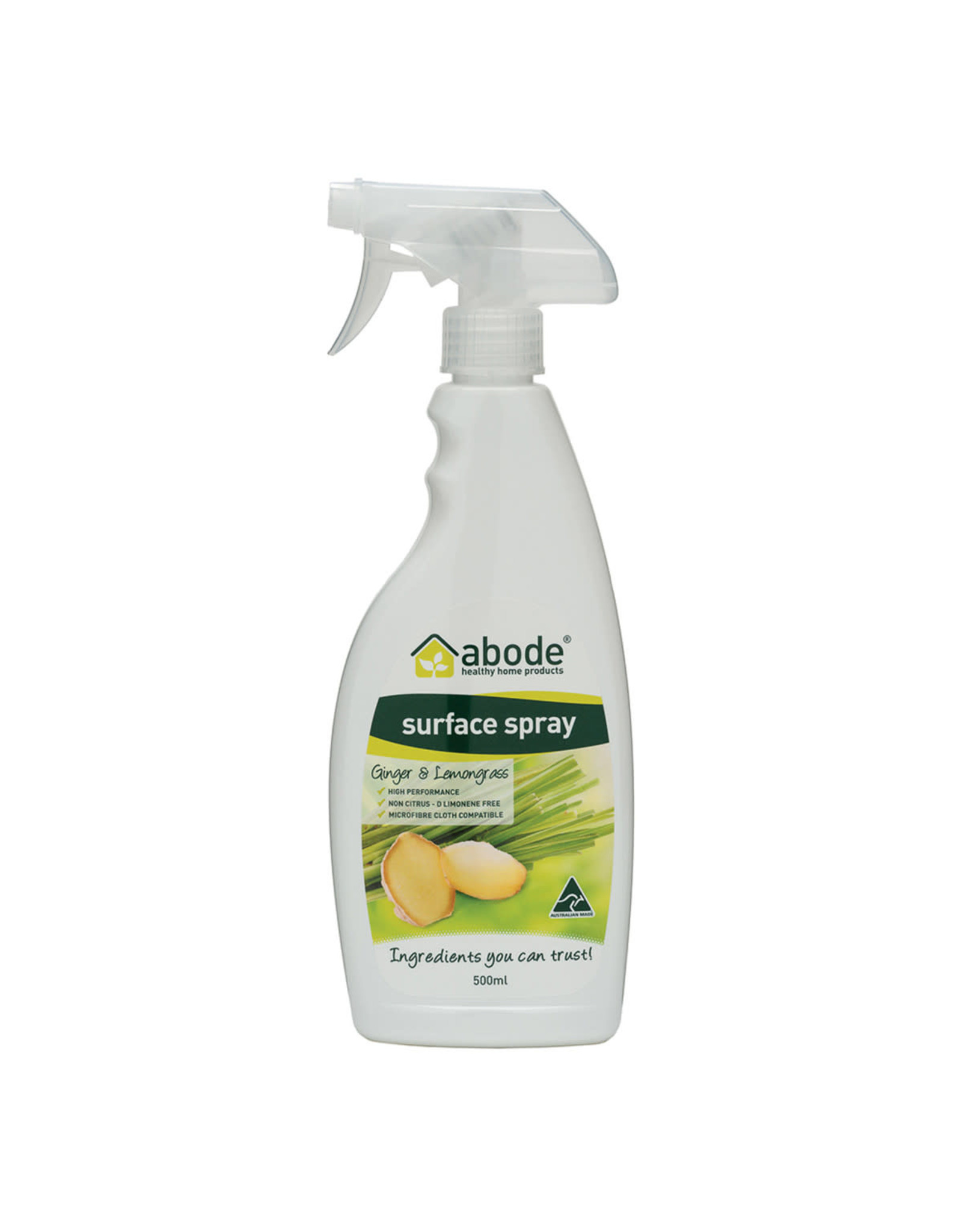 Abode Surface Cleaner Ginger & Lemongrass