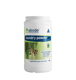 Abode Laundry Powder (Top) Blue Mallee Eucalyptus 1kg