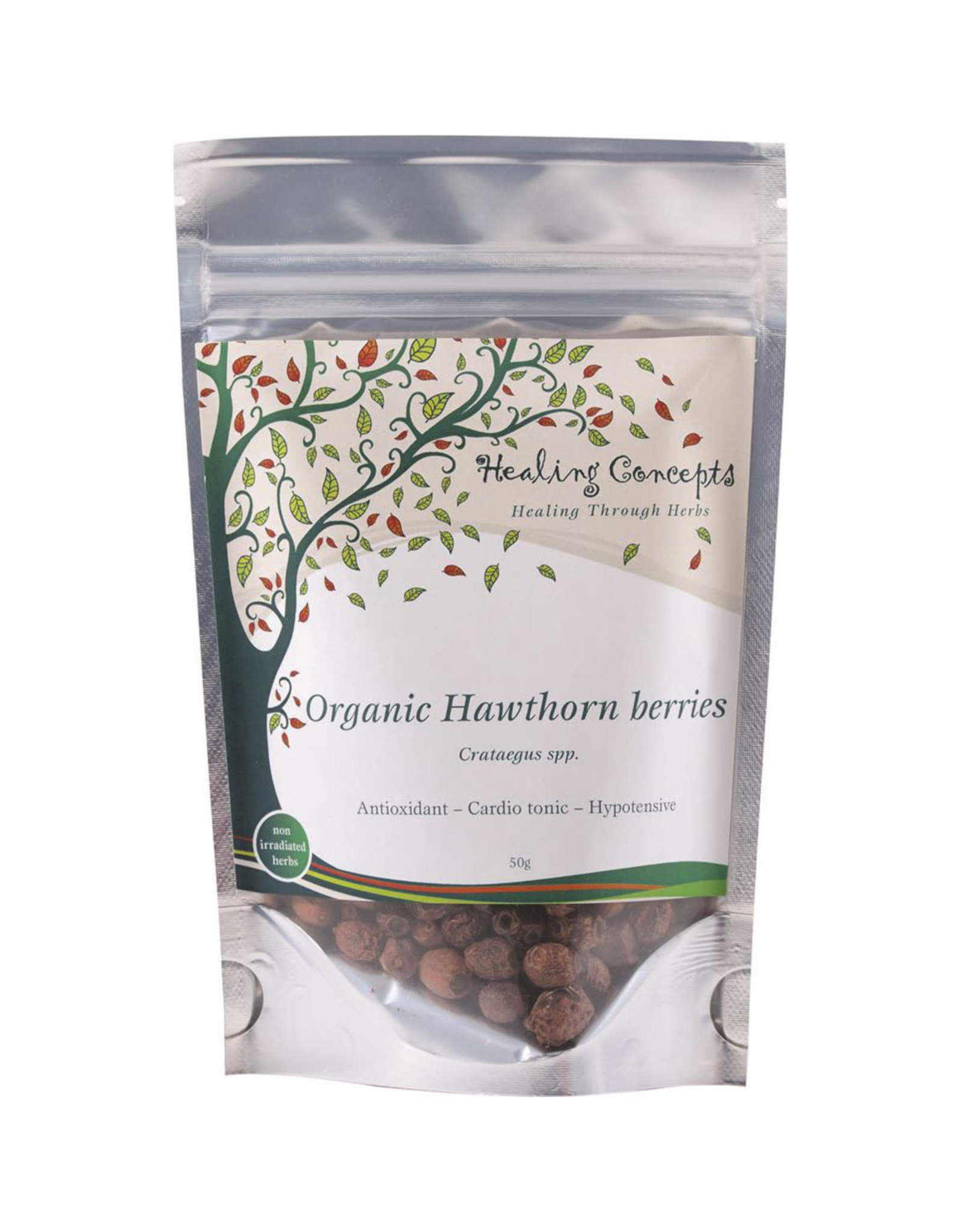 Healing Concepts Organic Hawthorn Berries Tea